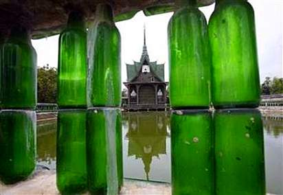 recycled temple