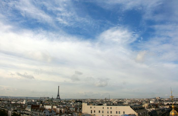 Paris skyline