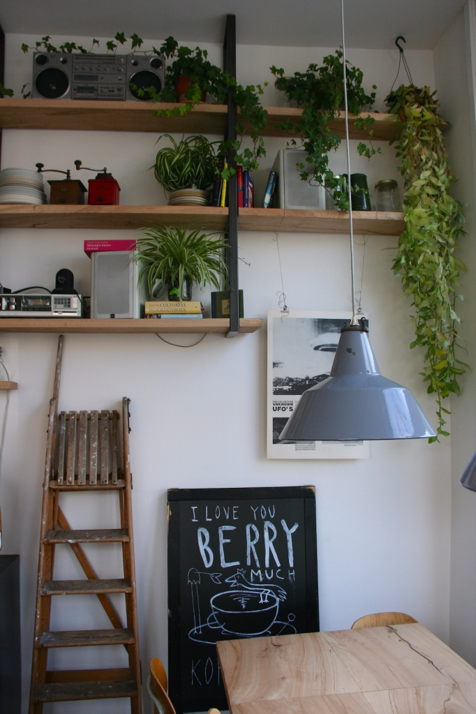 Berry Cafe in Amsterdam  by Anna Brones