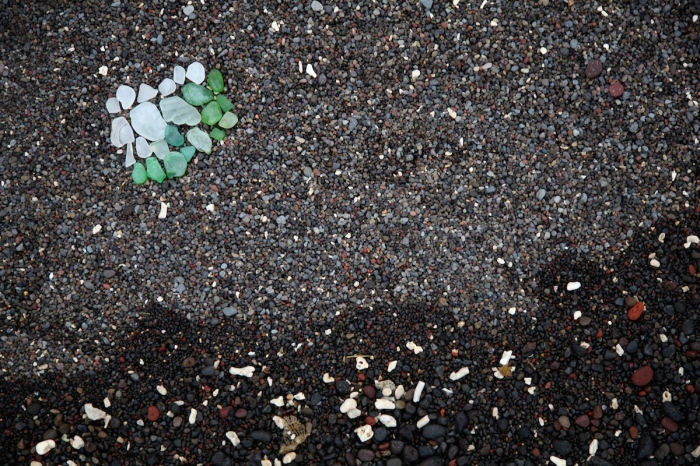 Beach glass by Anna Brones