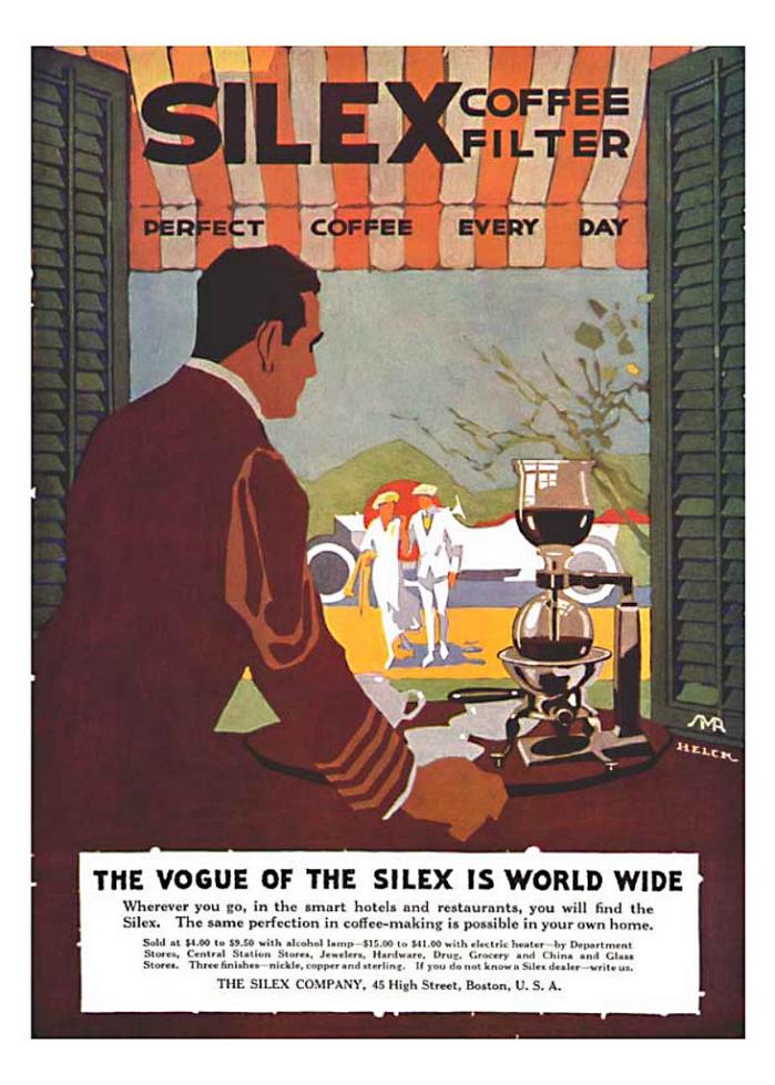 Vintage Siphon Coffee Ad