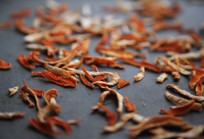 Dried Citrus Peel by Anna Brones