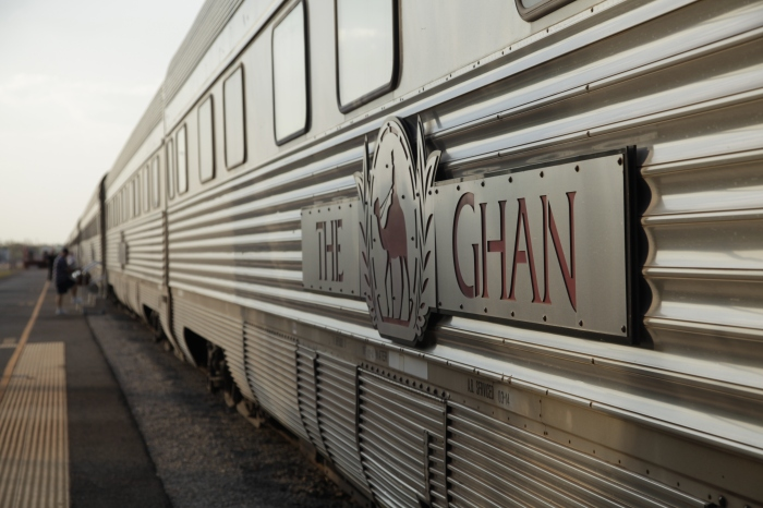 Traveling on The Ghan: Australia's Transcontinental Train  photo by Anna Brones