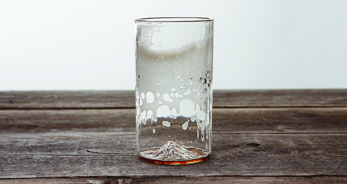 Mt. Hood Pint Glass