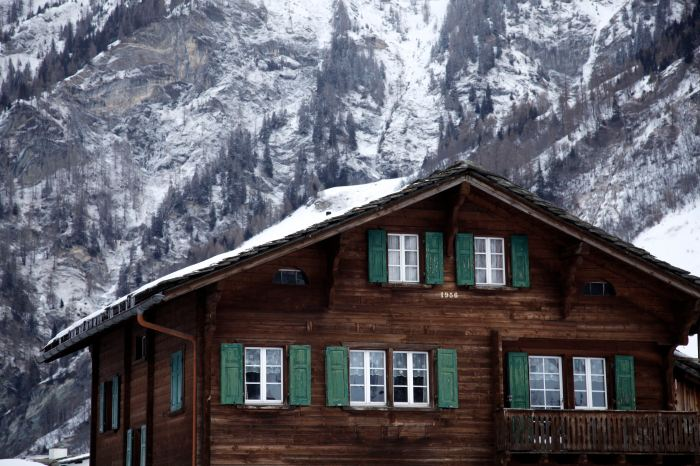 House in Vals, Switzerland photo by Anna Brones