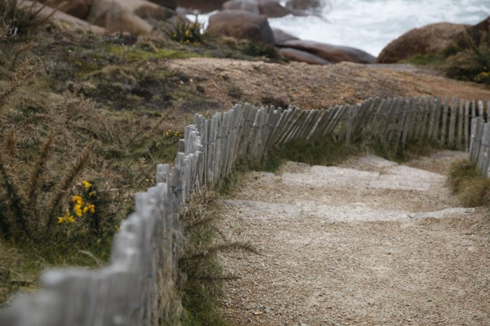 Path in Brittany by Anna Brones
