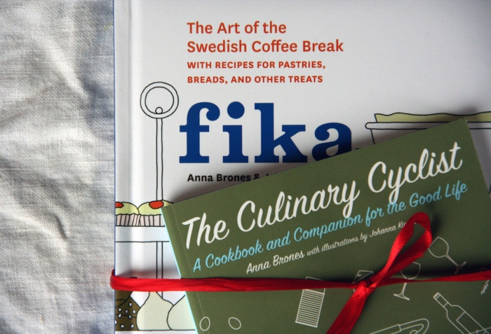 Fika - The Art of the Swedish Coffee Break and The Culinary Cyclist by Anna Brones