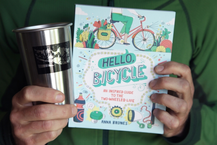 Hello, Bicycle + Limited Edition Stainless Steel Pint Glass