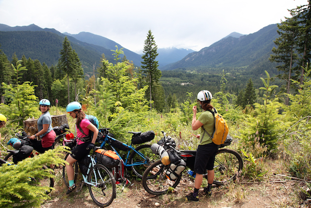 Bikepacking on the Olympic Adventure Route with Komorebi Cycling Team - Photo by Anna Brones