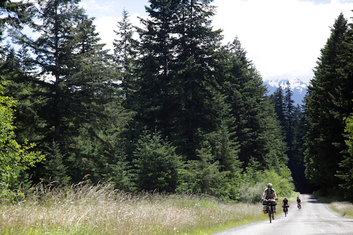 Bikepacking on the Olympic Adventure Route with Komorebi Cycling Team